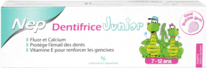 Dentifrice junior 7-12 ans
